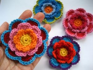 triple layer flower